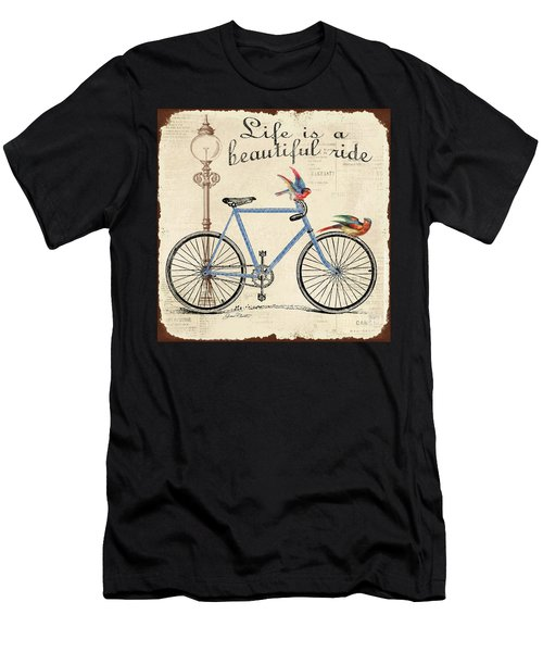 Life Is A Beautiful Ride Men's T-Shirt (Athletic Fit)