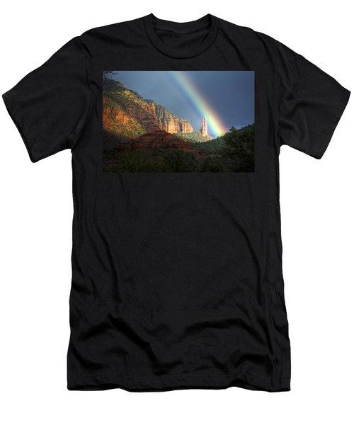 Life Is Beautiful  Men's T-Shirt (Slim Fit) by Saija  Lehtonen