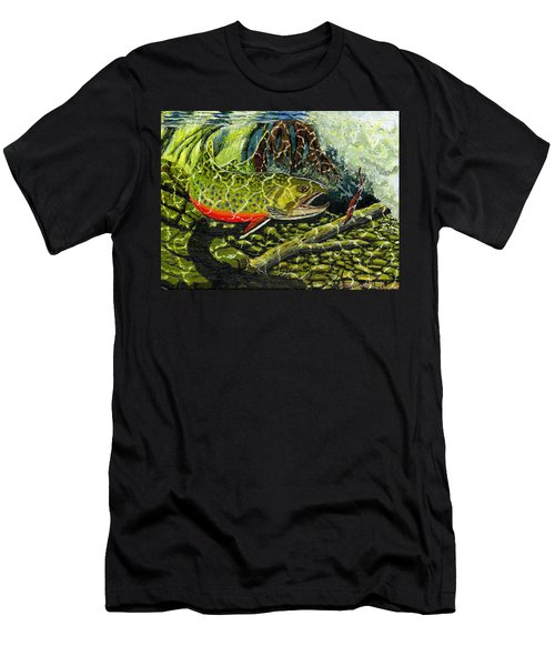 Life Under The Brook Men's T-Shirt (Athletic Fit)