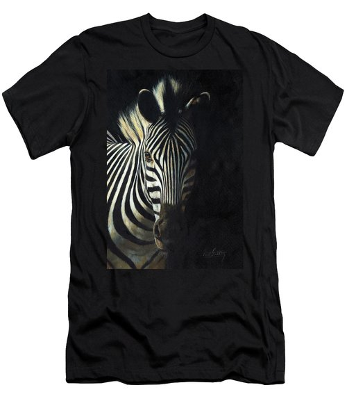 Light And Shade Men's T-Shirt (Slim Fit)