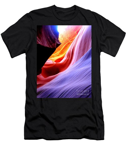 light symphony of Antelope canyon Men's T-Shirt (Athletic Fit)