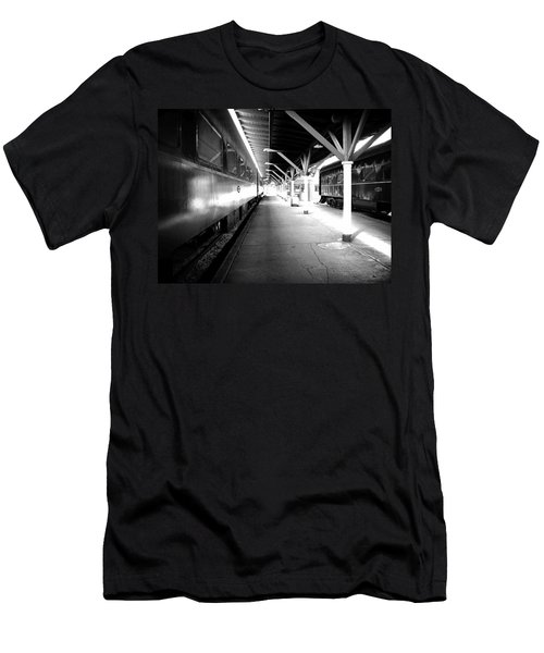 Men's T-Shirt (Slim Fit) featuring the photograph Light by Faith Williams