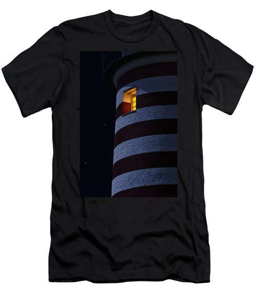 Light From Within Men's T-Shirt (Slim Fit) by Marty Saccone