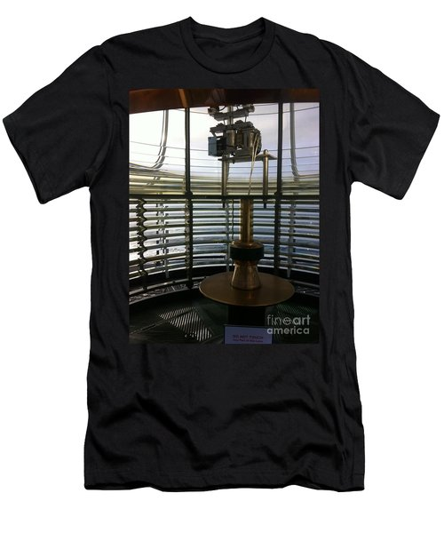 Light House Lamp Men's T-Shirt (Slim Fit) by Susan Garren