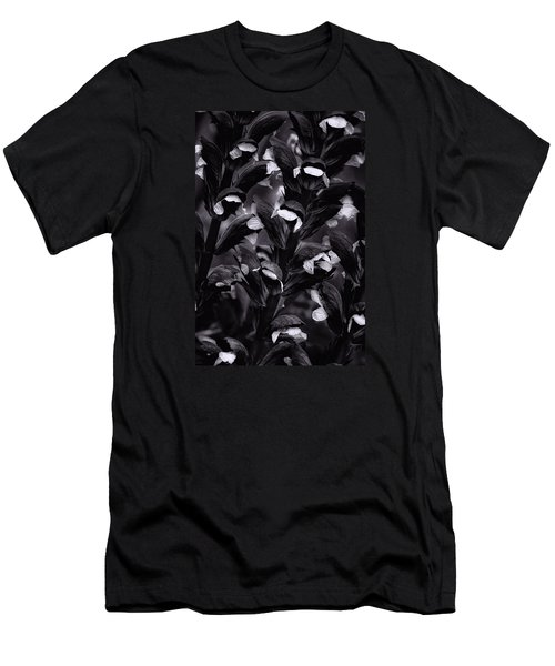 Men's T-Shirt (Slim Fit) featuring the photograph Light In The Dark by Edgar Laureano