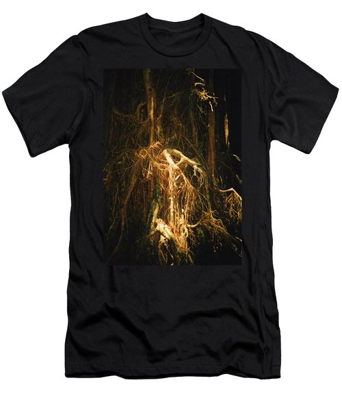 Light Roots Men's T-Shirt (Slim Fit) by Evelyn Tambour