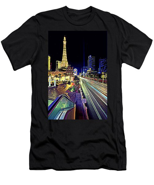 Light Speed Vegas Men's T-Shirt (Slim Fit) by Matt Helm