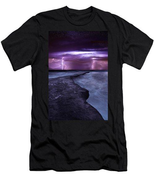 Light Symphony Men's T-Shirt (Slim Fit) by Jorge Maia