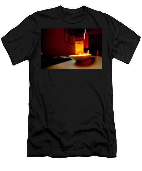 Light The Bottle Men's T-Shirt (Slim Fit) by Melinda Ledsome