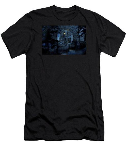 Light The Way Men's T-Shirt (Slim Fit) by Shelley Neff