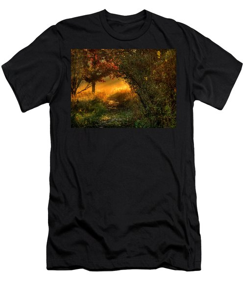 Lighted Path Men's T-Shirt (Athletic Fit)