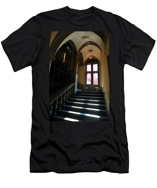 Lighted Stairs Men's T-Shirt (Athletic Fit)