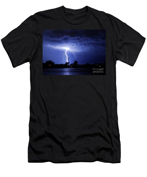 Power From Above Men's T-Shirt (Athletic Fit)