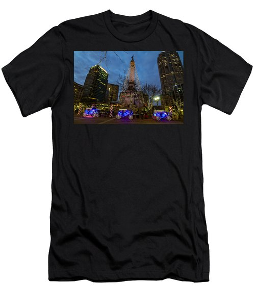 Lights And Carriage Rides Men's T-Shirt (Athletic Fit)