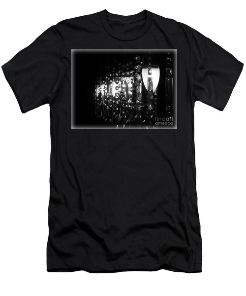 Men's T-Shirt (Slim Fit) featuring the photograph Lightwork by Clare Bevan