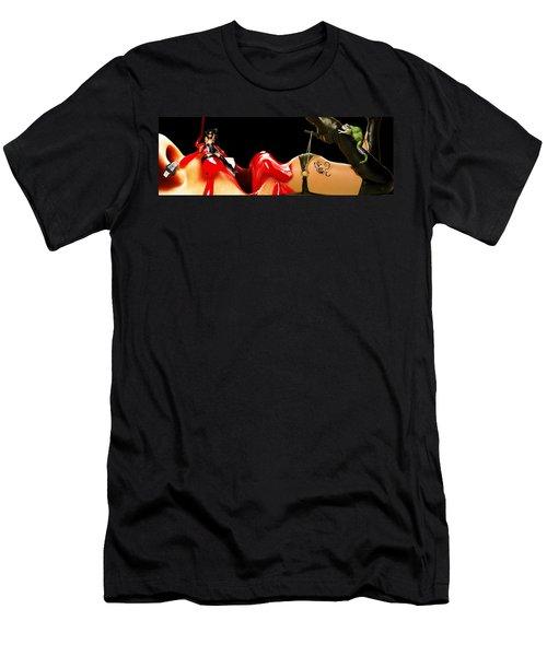 Ligs Men's T-Shirt (Athletic Fit)