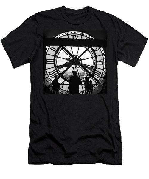 Like Clockwork Men's T-Shirt (Slim Fit) by Allan Piper