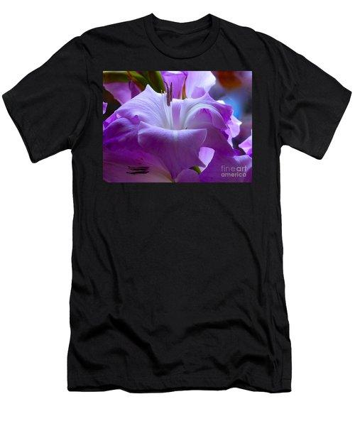 Lilac Flower Men's T-Shirt (Athletic Fit)