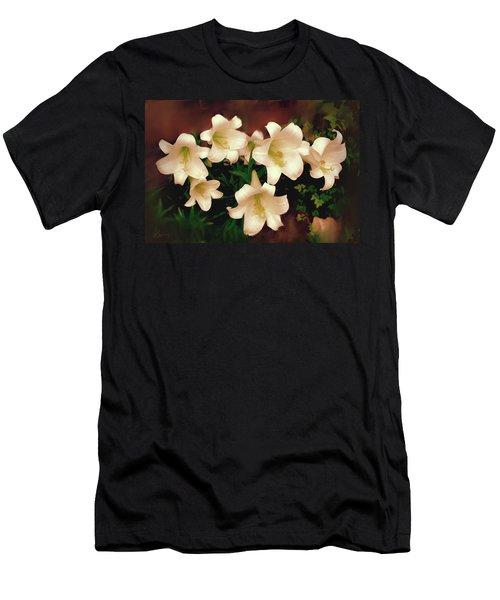 Lilies Aglow Men's T-Shirt (Athletic Fit)