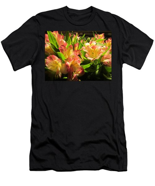 Lilies Men's T-Shirt (Athletic Fit)