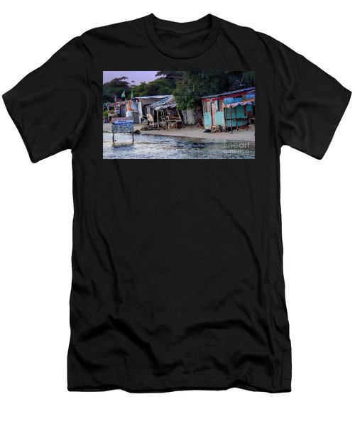 Liliput Craft Village And Bar Men's T-Shirt (Athletic Fit)