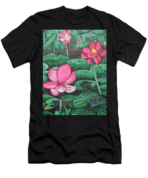 Lillies Men's T-Shirt (Athletic Fit)