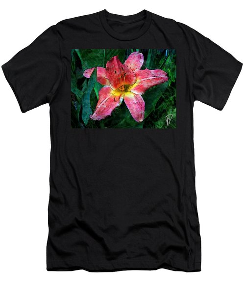 Lilly Of The Rain Men's T-Shirt (Athletic Fit)