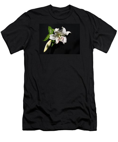 Lily At Daybreak Men's T-Shirt (Slim Fit) by Nick Kloepping