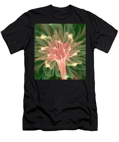 Lily In Bloom Men's T-Shirt (Athletic Fit)