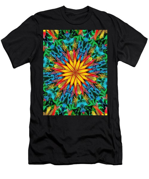 Lily Of Paradise Men's T-Shirt (Athletic Fit)