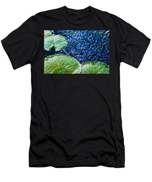 Lily Pads Men's T-Shirt (Athletic Fit)