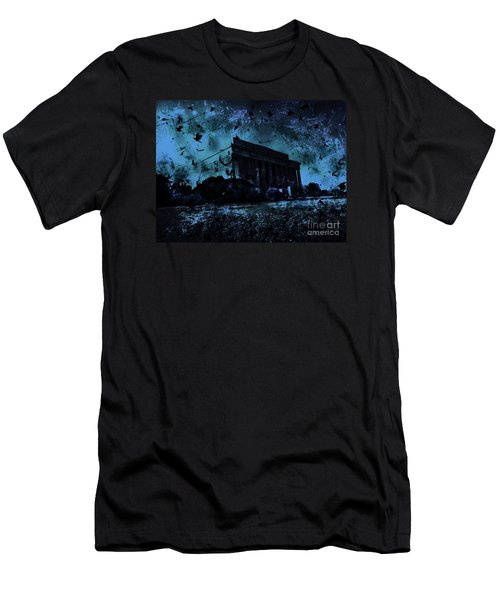 Lincoln Memorial Men's T-Shirt (Athletic Fit)