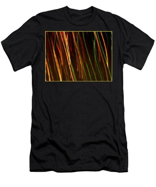 Line Light Men's T-Shirt (Athletic Fit)