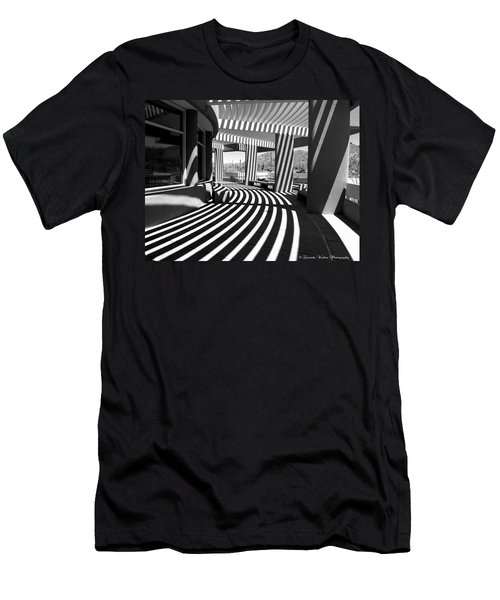 Lines And Curves Men's T-Shirt (Athletic Fit)