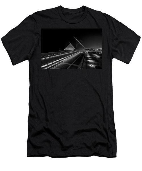 Lines In The Dark Men's T-Shirt (Athletic Fit)