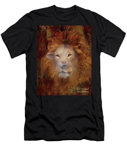 Lion Lamb Face Men's T-Shirt (Athletic Fit)