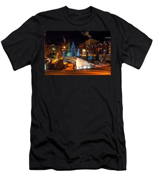Lions Head Village Vail Colorado Men's T-Shirt (Athletic Fit)