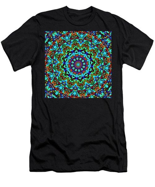 Liquid Dream Kaleidoscope Men's T-Shirt (Athletic Fit)