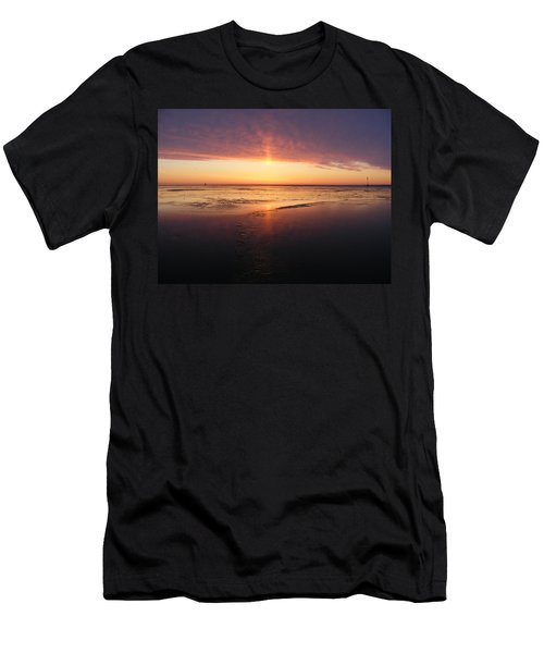 Liquid Sunrise Men's T-Shirt (Athletic Fit)