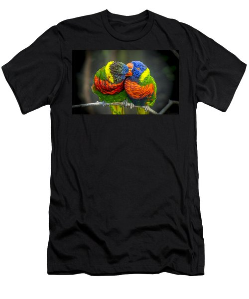 Listen Men's T-Shirt (Athletic Fit)