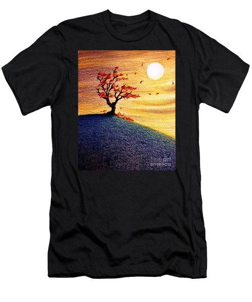 Little Autumn Tree Men's T-Shirt (Athletic Fit)