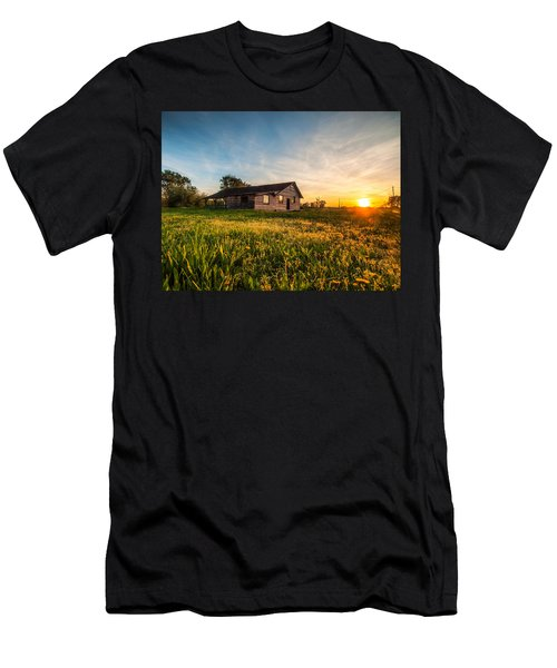 Little House On The Prairie Men's T-Shirt (Slim Fit) by Davorin Mance