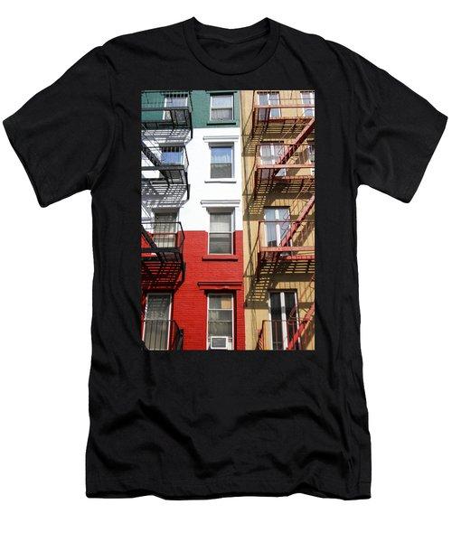 Little Italy. Men's T-Shirt (Slim Fit) by Menachem Ganon