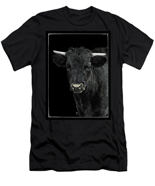 Little Moo Men's T-Shirt (Athletic Fit)