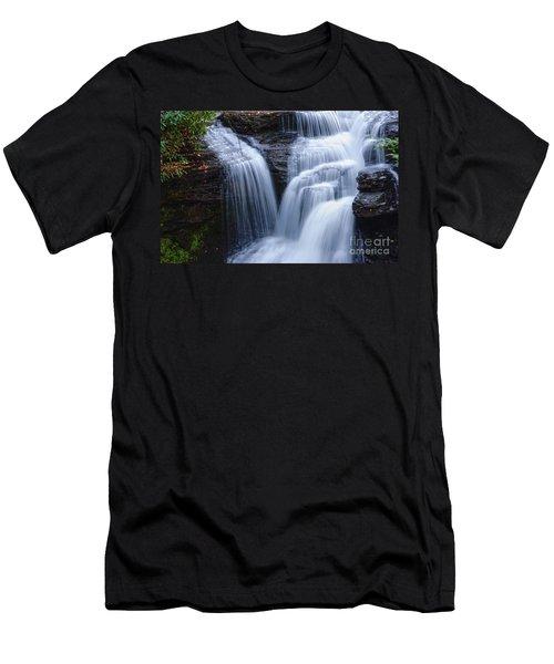 Men's T-Shirt (Slim Fit) featuring the photograph Little Niagara by Debra Fedchin