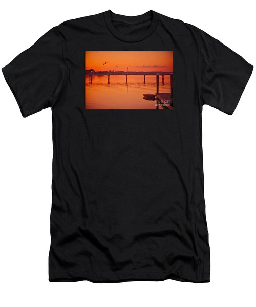 Little Red Boat Men's T-Shirt (Athletic Fit)