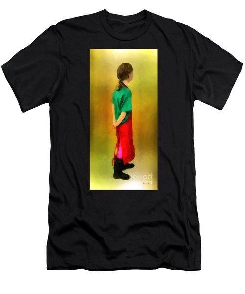 Little Shopgirl Men's T-Shirt (Athletic Fit)