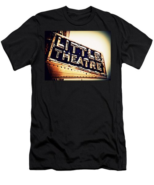 Little Theatre Retro Men's T-Shirt (Athletic Fit)