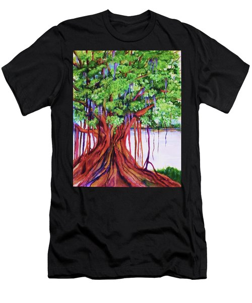 Living Banyan Tree Men's T-Shirt (Athletic Fit)