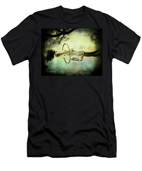 Living In The Fear Men's T-Shirt (Athletic Fit)